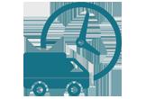 Sector Transporte y logística Icono